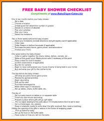 home design checklist easylovely baby shower decoration checklist t76 in amazing home