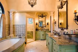 Wrought Iron Bathroom Lighting Wrought Iron Bathroom Mediterranean With Light Beige Flooring