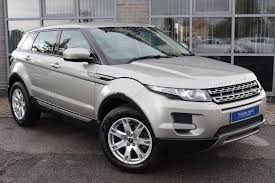 wrapped range rover evoque used land rover range rover evoque gold for sale motors co uk
