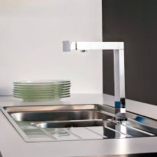 Contemporary Kitchen Faucets Modern Kitchen Faucet With Side Spray Moen 7594esrs Ultra Modern