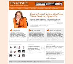 Create Your Resume Online by 38 Wordpress Themes To Showcase Your Resume Online Press Castle