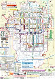 Tokyo Metro Route Map by A Guide To Riding The Kyoto Buses
