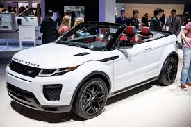 white convertible jeep new 2016 range rover evoque convertible is here pics specs and