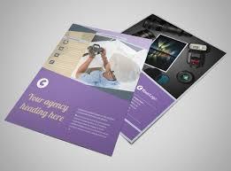 Portfolio Brochure Template photography portfolio flyer template mycreativeshop