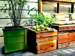 enhance your deck with reclaimed wood plant boxes superior