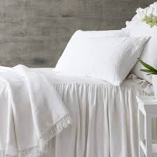 wilton white cotton bedspread pine cone hill