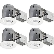 easy install recessed lighting amazon com globe electric 90957 5 led ic rated dimmable downlight