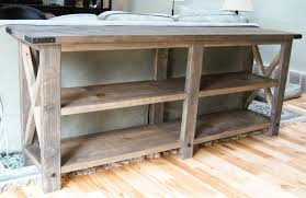 How To Build A Sofa Table by 10 Stunning Diy Console Tables