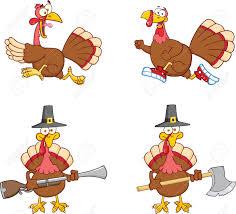 thanksgiving turkey running clipart clipartxtras