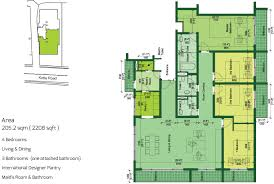6 Square Meters To Square Feet Capital Trust Residencies Fortress Capital Trust Residencies
