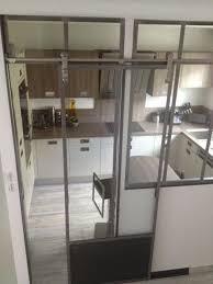 verriere interieur cuisine verrière entre couloir et cuisine verrières d intérieur ghislain
