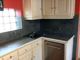 changer un plan de travail de cuisine plan de travail credence cuisine beton cire pour credence cuisine