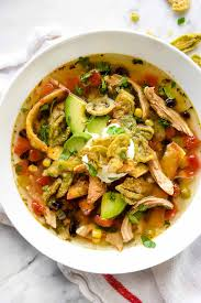 cooking light chicken tortilla soup seasonal spring foodiecrush