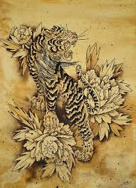 mer enn 25 bra ideer om japanese peony tattoo på pinterest