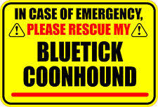 bluetick coonhound decals bluetick decal ebay