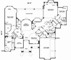 house plans european house plans with safe rooms best of european style plan 5 beds