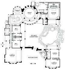 style house plans with courtyard decoration homes plans peaceful ideas mission style home