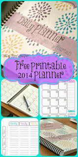 calendar planner template 2014 76 best planner templates images on pinterest preschool lesson free printable 2014 planner monthly spread daily tasks contact list notes