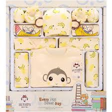 click to buy 100 cotton newborn gift box 18pcs sets baby
