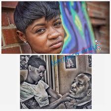bre z the barber aka bre z babii is doing it big