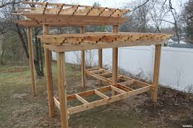 How To Build A Wooden Pergola by Backyard Landscaping Ideas How To Build A Pergola U2013 Myfixituplife