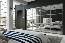 glass mirror wardrobe doors new wave bedrooms bespoke sliding wardrobes in leeds