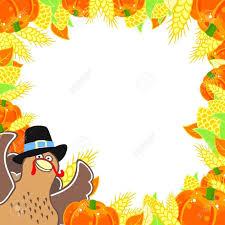 thanksgiving border clipartion