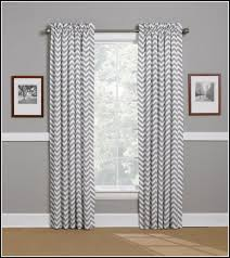 Chevron Style Curtains Grey And White Chevron Curtains Ukhome Design Ideas Curtains Grey