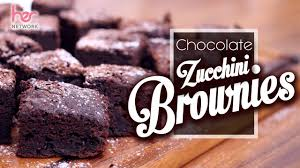easy chocolate zucchini brownies healthier treats her network