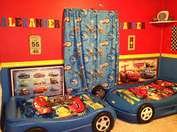 Car Room Decor Car Themed Bedroom For Adults Lightning Mcqueen Curtains Argos