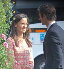 St Mark S Church Berkshire Pippa Middleton And James Pictured Ahead Of Wedding Daily Mail