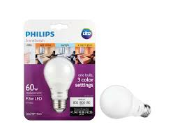 3 Way Led Light Bulb by Led Bulb 046677464868 Philips