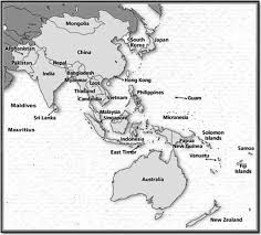 Central And Northern Asia Map by Diabetes In Asia And The Pacific Implications For The Global