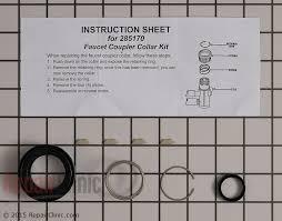 Countertop Dishwasher Faucet Adapter Dishwasher Hose Tube U0026 Fitting Parts Fast Shipping