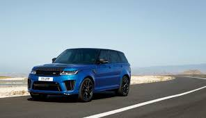 range rover sport blue flat out magazine 2018 range rover sport goes green sort of