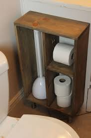 wooden toilet paper holder stand bathroom ideas diy simple brass toilet paper holder wood storage toilet paper
