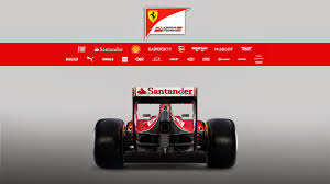 ferrari back view ferrari f14 t f1 car launch pictures f1 fansite com