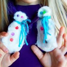 Holiday Crafts For Preschoolers - 24 snowman crafts for kids to make hands on as we grow