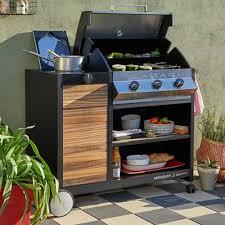 cuisine d ext駻ieure barbecue plancha brasero cuisine d extérieur leroy merlin
