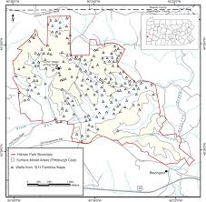 Western Pennsylvania Map methods and challenges to locating legacy wells in western