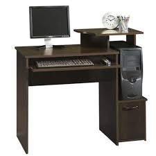 Home Office Desk With Storage by Sauder Beginnings Cinnamon Cherry Desk With Storage 408726 The