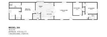 Oak Creek Homes Floor Plans Model 384 16x76 3bedroom 2bath Oak Creek Mobile Home Tiny Houses