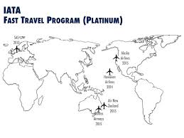 Alaska Airlines Map by Alaska Airlines Achieves Iata U0027s Fast Travel Platinum Status