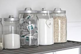 pretty glass kitchen canisters wearefound home design - Clear Glass Canisters For Kitchen