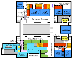 salisbury university libraries academic commons building map