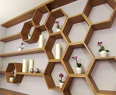 diy tutorial how to make wood honeycomb shelves why spend