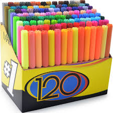 amazon com color markers set set of 120 unique u0026 vibrant