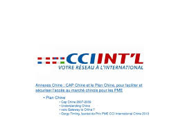 china cci chine planete pme 15 juin 2010 conference et gorgy timing prix chine 2010