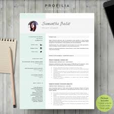 word resume u0026 cover letter template by profilia resume boutique on