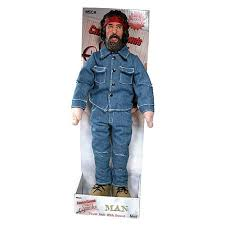 Cheech Chong Halloween Costumes Cheech U0026 Chong Chong 18 Talking Plush Doll Neca Cheech